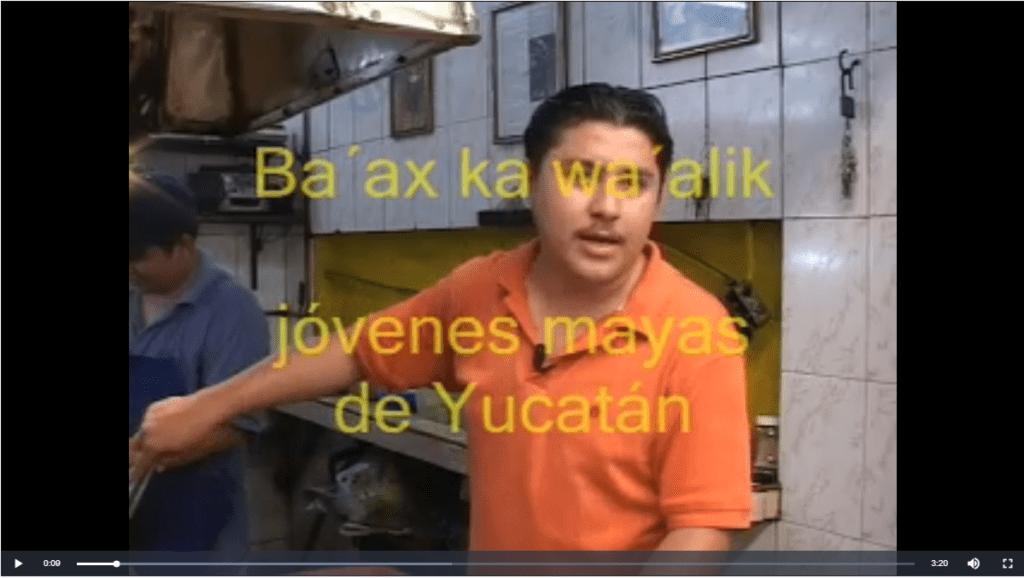 Ba'ax ka wa'alik Jóvenes mayas en Yucatán