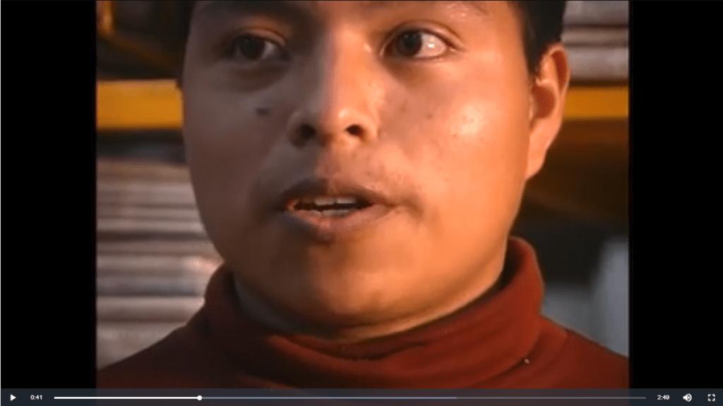 Presencia de jóvenes indígenas en la universidad