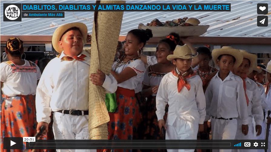 Diablitas, diablitos, almitas: danzando la vida y la muerte