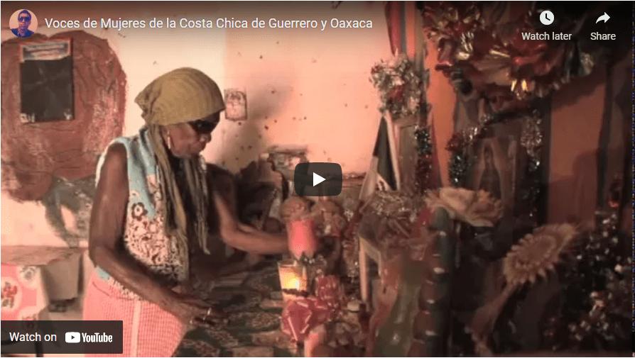 Voces de mujeres de la Costa Chica